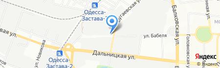 Пластилюкс Групп на карте Одессы