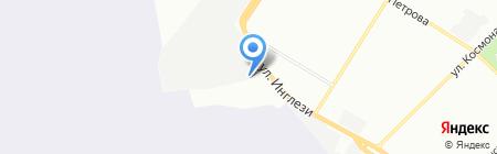 Диана на карте Одессы