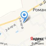 O`Range на карте Санкт-Петербурга