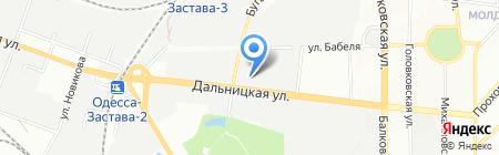 Трейд-пак ЧП на карте Одессы