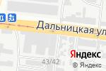 Схема проезда до компании Центр автоэкспертизы в Одессе
