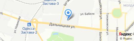 Стрелец на карте Одессы