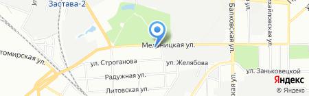 Союзэлектрострой-Е на карте Одессы