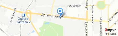 Юви & Ком Автомотив на карте Одессы