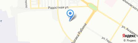 Одесская специализированная школа №54 I ступени с углубленным изучением английского языка на карте Одессы