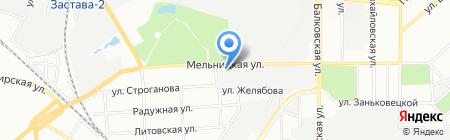 Трансферри на карте Одессы