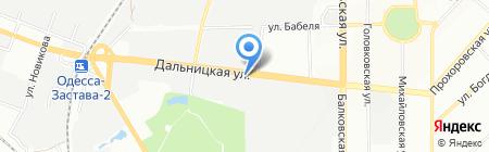 Инвестор-юг на карте Одессы