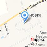 Детский сад на карте Санкт-Петербурга