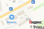 Схема проезда до компании Герком в Романовке