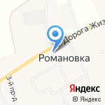 Вереск на карте Санкт-Петербурга