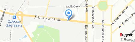 Rante на карте Одессы