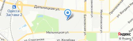 Ликонд на карте Одессы