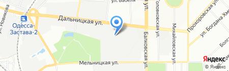 Стейнал на карте Одессы