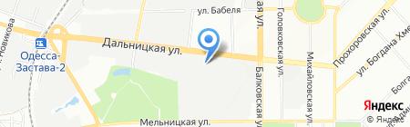 Вит-Ват на карте Одессы
