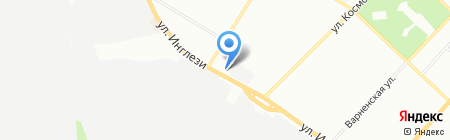 Надія на карте Одессы