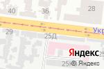 Схема проезда до компании 77 в Одессе