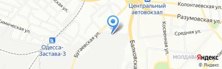 Аметист на карте Одессы