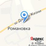 Администрация сельского поселения Романовское на карте Санкт-Петербурга