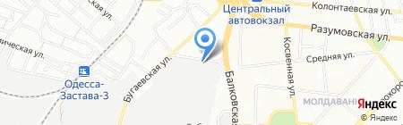 Нова Тек на карте Одессы
