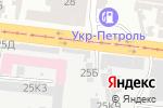 Схема проезда до компании Chiken Roll в Одессе