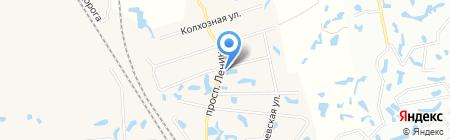 Продовольственный магазин на карте Феклистово