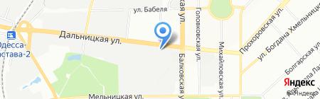 Катран на карте Одессы