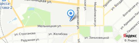 Европа-М на карте Одессы