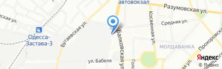Алми на карте Одессы