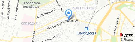 Парус на карте Одессы