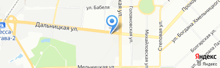 TRUCK-Автозапчасти на карте Одессы