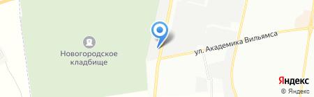 Теплосан на карте Одессы