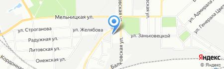 Ди Кей-Лан на карте Одессы