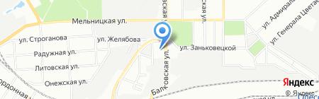 ВиК-XXI на карте Одессы