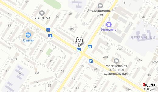 Eva. Схема проезда в Одессе