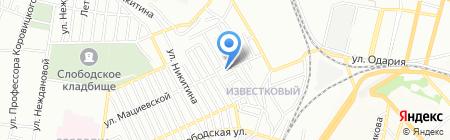 Свято-Вознесенский скит Свято-Архангело-Михайловского женского монастыря на карте Одессы