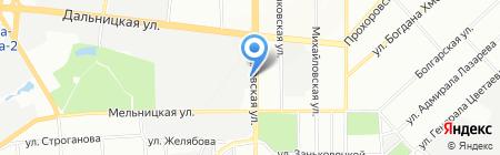 Альфа-фасад на карте Одессы