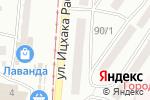 Схема проезда до компании Ваша Ферма в Одессе