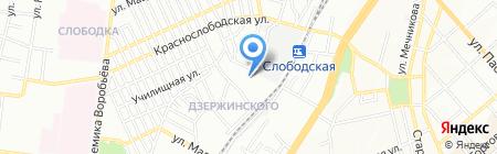 Детская школа искусств №2 на карте Одессы