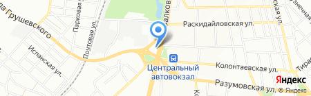 АЗС Катрал на карте Одессы