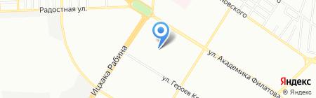 Детский сад-ясли №49 на карте Одессы