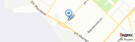 Ирина на карте Одессы