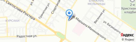 Людмила на карте Одессы