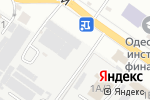 Схема проезда до компании Коше-дизайн в Одессе