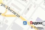 Схема проезда до компании CopyPaste в Одессе