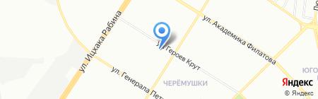Киоск по ремонту обуви на карте Одессы