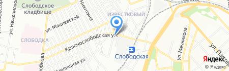 Мысль на карте Одессы