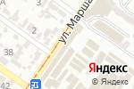 Схема проезда до компании Галерея дверей в Одессе
