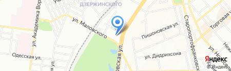 Поиск-Ника на карте Одессы