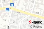 Схема проезда до компании Чубчик в Одессе
