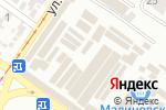 Схема проезда до компании Конкорд в Одессе
